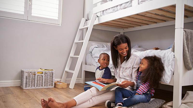 Use beliche, e ganhe mais espaço no quarto.