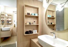A modernidade no banheiro do seu apartamento