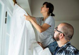Tipos de cortinas para o seu apartamento